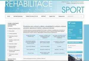 Rehabilitace-sport.cz - sportovní a rehabilitační pomůcky