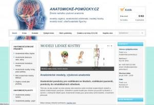 Anatomické-pomůcky.cz - anatomické modely, výuková anatomie