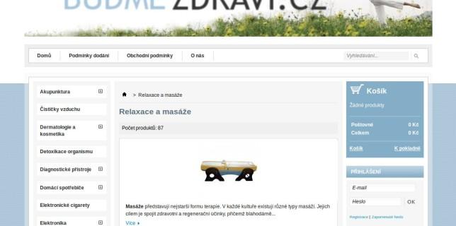 Buďme-zdraví.cz – PRODEJ UKONČEN