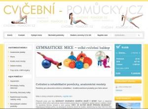 Cvičební-pomůcky.cz - rehabilitační a zdravotní sportovní pomůcky