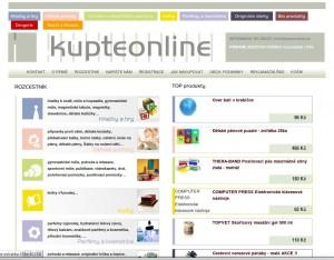 Kupteonline.cz - internetové nákupní centrum