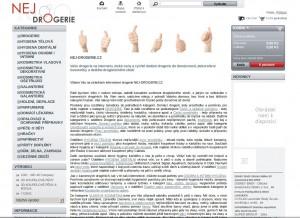 Nej-drogerie.cz - online prodej drogistického zboží